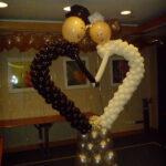 διακοσμηση γάμου- βάπτισης, μπαλονια
